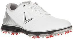 Callaway Men's Coronado Golf Shoe, White/Black, 9.5 D US