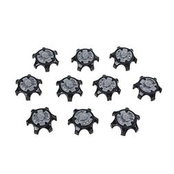 CM Cosmos 10 pcs Black Color Replacement Spikes Cleats Golf