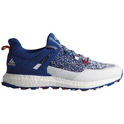 adidas NEW Mens Crossknit Boost USA Golf Shoes Red/White/Blu