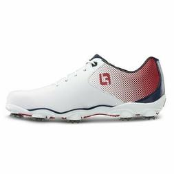 FootJoy D.N.A.  Helix Golf Shoes - Red/White/Blue #53317