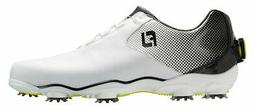 FootJoy DNA Helix Golf Shoes BOA 53319 White/Black Men's New
