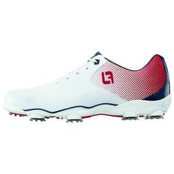 Footjoy Dna Helix Golf Shoes Red/White/Blue - Choose Size &