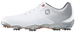 FootJoy Men's DNA Helix Golf Shoe White/Silver Size 10 M US