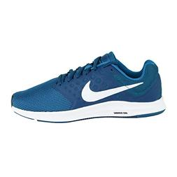 NIKE Men's Downshifter 7 Shoes Green Abyss/White/Blue 9.5