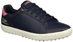 Skechers Women's Drive 4 Spikeless Waterproof Golf Shoe, Nav