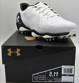 Under Armour Drive One Golf Shoes,1267756-103,White,Men's 11