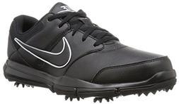 NIKE Men's Durasport 4  Shoe, Black/Metallic Silver-Black, 1