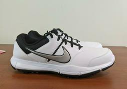 Nike Durasport 4 Men's Golf Shoes Black White Silver 844550-