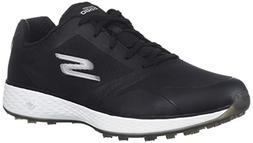 Skechers Women's Eagle Relaxed Fit Golf Shoe, Black/White, 8