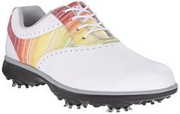 FootJoy Ladies Emerge Golf Shoes White Rainbow 7 Medium Clos a5bde5c1efd