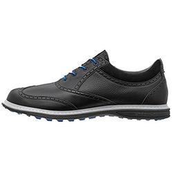 Ashworth Encinitas Wingtip Spikeless Golf Shoes 2014 Black/A