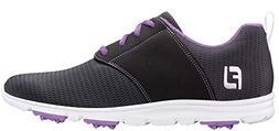 FootJoy Ladies Enjoy Golf Shoes Charcoal/Violet 8 Medium