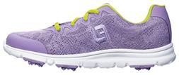FootJoy Junior Girl's Enjoy Spikeless Golf Shoes, Closeout,