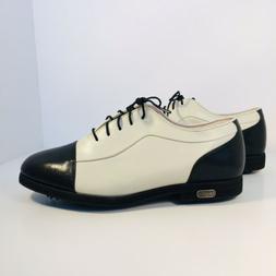 FootJoy Europa Collection Women's Leather Navy Captoe Golf