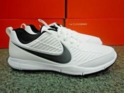 NIKE EXPLORER 2 MEN'S GOLF SHOES WHITE/BLACK SIZE 14