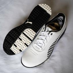 faas grip golf shoes white black