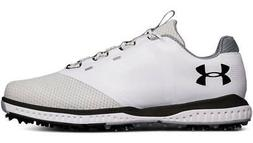 Under Armour Fade RST Golf Shoes Men's White Waterproof New
