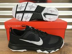 Nike FI Bermuda Golf Shoes Spikeless Black White Oreo Wide S