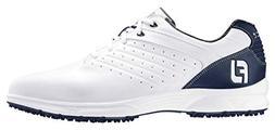 FootJoy Men's ARC SL Golf Shoes 59701 - White/Navy - 7 - Med