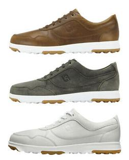 FootJoy FJ Casual Golf Shoes Spikeless Men's New - Choose Co