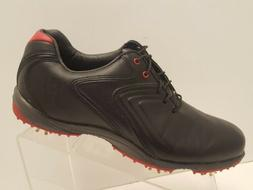 FootJoy FJ Hydrolite Men's Size 8 M Golf Shoes Black Red 5