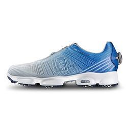 FootJoy Hyperflex II Boa Mens Golf Shoes - Blue/Silver