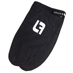 New FootJoy Flannel Drawstring Shoe Bags - Black with White