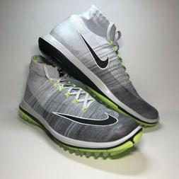 NIKE FLYKNIT ELITE Golf Shoes Volt Men's Size 10 844450-00