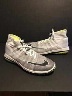 NIKE FLYKNIT ELITE Golf Shoes Volt Size 12 844450-002