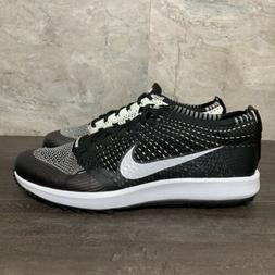 Nike Flyknit Racer G Size 11 Mens Golf Shoes Oreo White