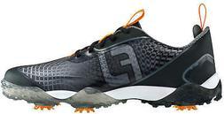 freestyle 2 0 golf shoes black orange
