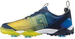 FootJoy Freestyle 2.0 Golf Shoes Blue/Black/Yellow 57346 Men