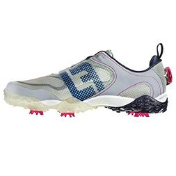 FootJoy Men's Freestyle Athletic Golf Shoes Grey/Navy/Red