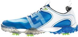 FootJoy Freestyle Golf Shoes Men's - 57340 White/Blue - 10 M