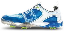 FootJoy Freestyle Golf Shoes White/Blue 9.5 Medium