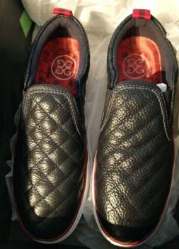 G/Fore Ladies Quilted Slip On Golf Shoes, Size 6