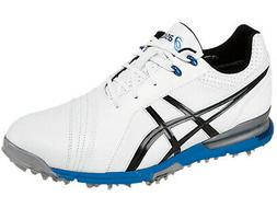 Asics Gel Ace Pro FG Golf Shoes - White/Black/Blue