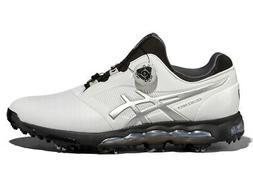 Asics Gel Ace Pro X BOA Golf Shoes - White/Black/Silver