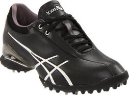 ASICS Women's GEL-Ace Thea Golf Shoe,Black/Silver,8 M US