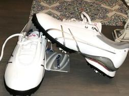 Asics Gel-Ace Thea Womens Golf Shoes Size 7.5 White Leather