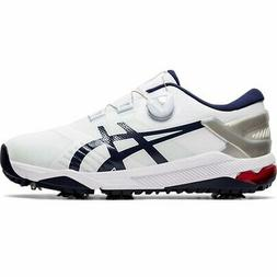 Asics Gel Course Duo Boa White Mens Golf Shoes