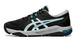 Asics Gel Glide Black/Silver Golf Shoes