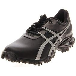 ASICS Men's GEL-Linksmaster Golf Shoe, Black/Silver/Gunmetal