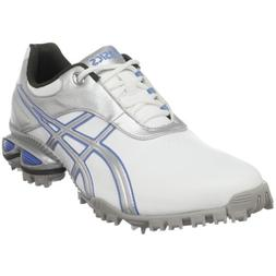 ASICS Women's GEL-Linksmaster Golf Shoe,White/Silver/Carolin