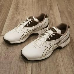 Asics Gel Tour Lyte Golf Shoes Brown White Womens US 7