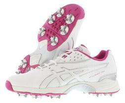 ASICS Women's GEL-Tour Lyte Golf Shoe,White/Orchid/Silver,9.