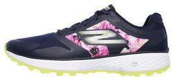 Skechers Go Golf 4 Birdie Navy/Floral Hot Melt Shoes Women 1