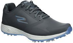 Skechers Performance Women's Go Pro Golf-Shoes,gray/blue,9.5