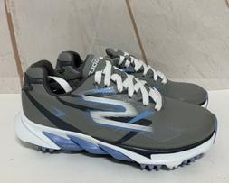 Skechers Go Golf Blade Shoes Women's Size 11  Gray/Blue Wate