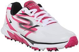 Skechers Performance Women's Go Golf Blade Golf Shoe, White/